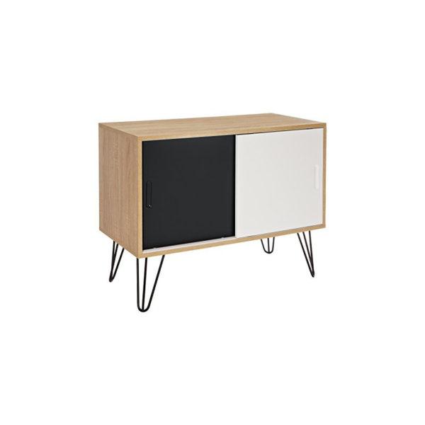 Mid Century Modern Design Sideboard freigestellt