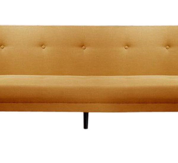 Orangefarbenes Sofa
