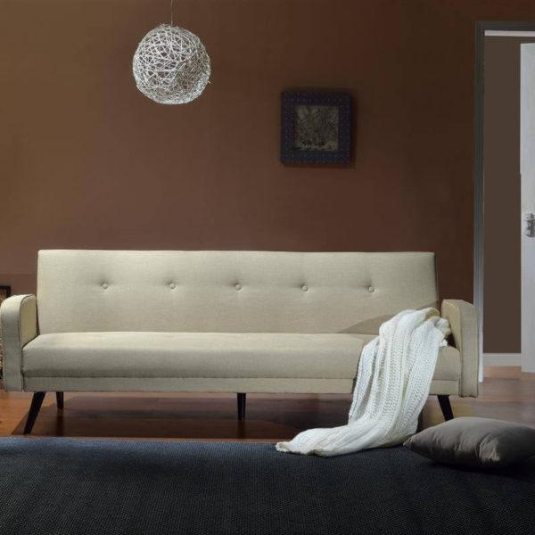 Weißes Sofa im Raum