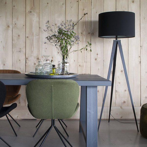 Stehlampe Zuiver Tripod schwarz Mid Century Modern Design