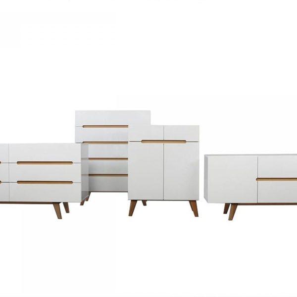Sideboard im Mid Century Modern Design und die zugehörige Linie
