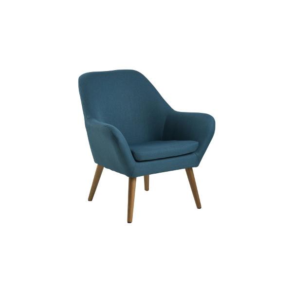Stuhl mit Eichenbeinen im Mid Century Modern Design