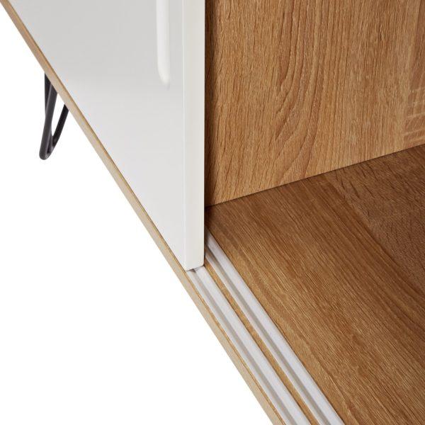 Nahaufnahme Türe des Mid Century Modern Design Sideboards