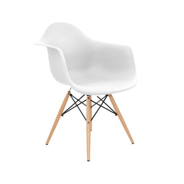 Stuhl Schale weiss Eames Design Mid Century vorschau