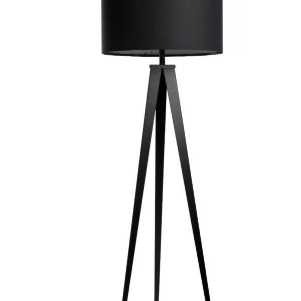 Stehlampe schwarz Mid Century Modern Design
